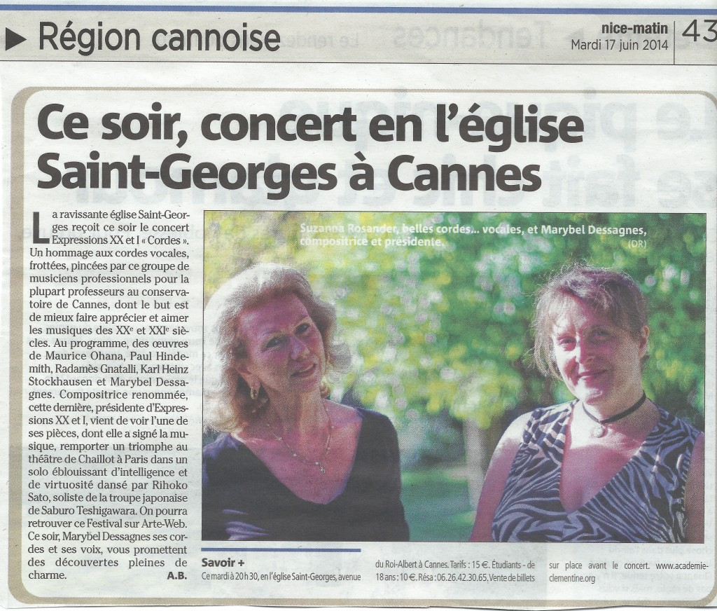 Nice-matin Cordes 17.04.14